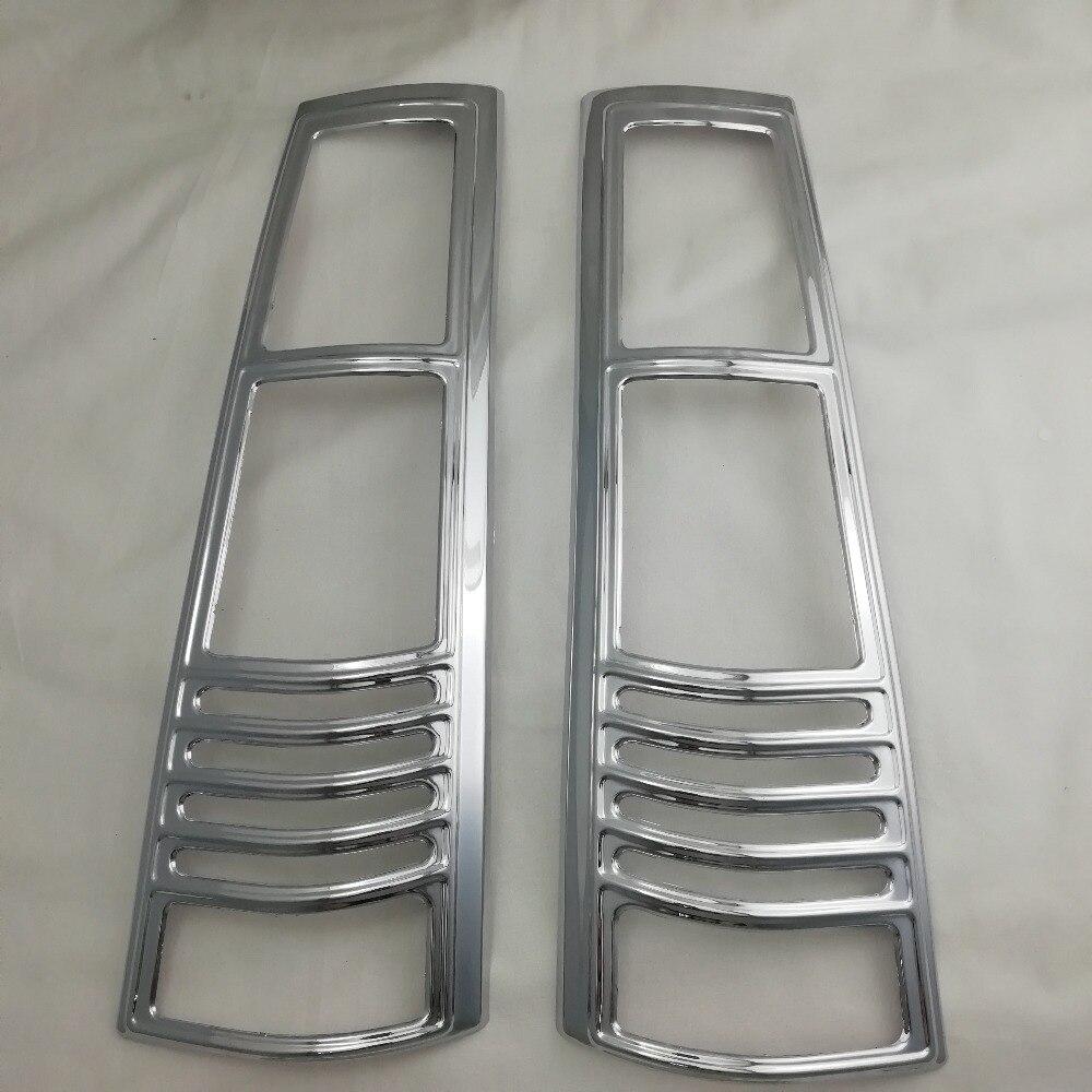 Para Honda RD1 RD3 CR-V 1995, 1996, 1997, 1998, 1999, 2001 ABS cromo accesorios chapados en parte trasera embellecedor de cubierta de lámpara de luz cubierta de luz trasera