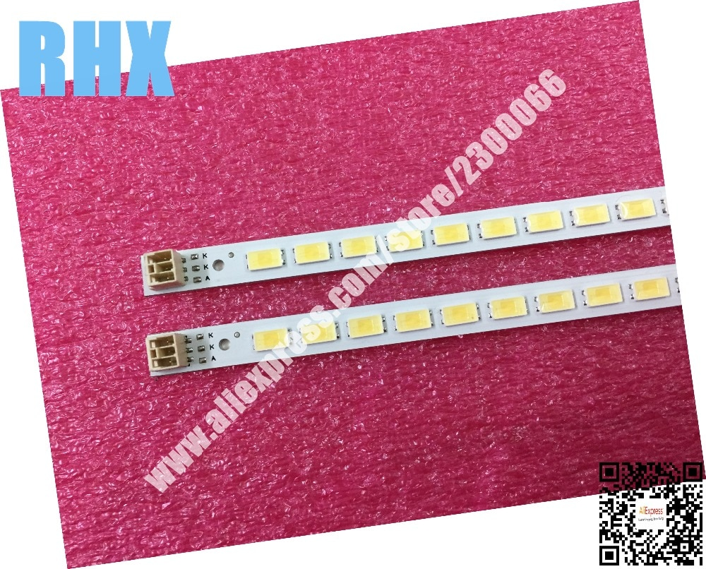 2 шт./лот для samsung TCL LCD TV светодиодная подсветка лампа полоса L40F3200B 40-вниз LJ64-03029A LTA400HM13 1 шт. = 60LED 455 мм Новинка