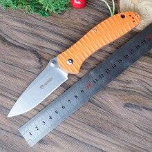 Firebird Ganzo G7392P 440C lame G10 poignée couteau pliant survie Camping outil poche couteau pliant tactique edc outil extérieur