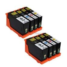8 pièces cartouches dencre compatibles Lexmark 150 XL 150 lm150 BK/C/M/Y pour lexmark S315 S415 S515 PRO715 PRO915 jet dencre
