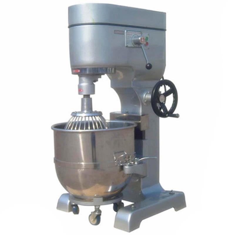 Machine à remuer les oeufs multifonction commerciale 80L trois vitesses crème professionnelle milkshake mélangeur batteur à oeufs boulangerie mélangeur 380 V nouveau