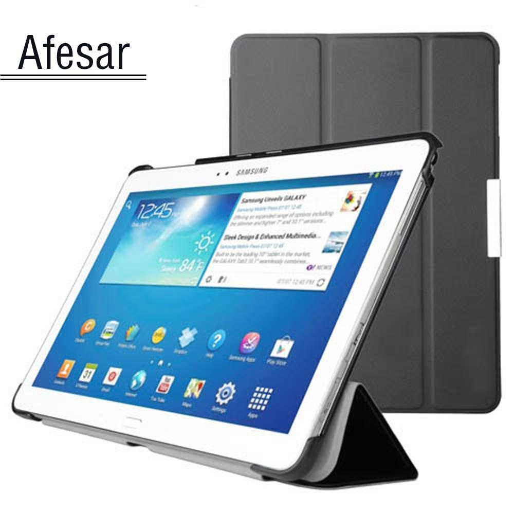 Чехол для Samsung Galaxy Tab Pro 10,1 SM-T520 T525 T521, умный Ультратонкий чехол с подставкой, чехол для SM P600 P601 P605