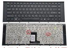 Eua novo teclado do portátil para sony vpc ea35 ea38 PCG-61211T ea3 ea4 pcg-61212T inglês preto