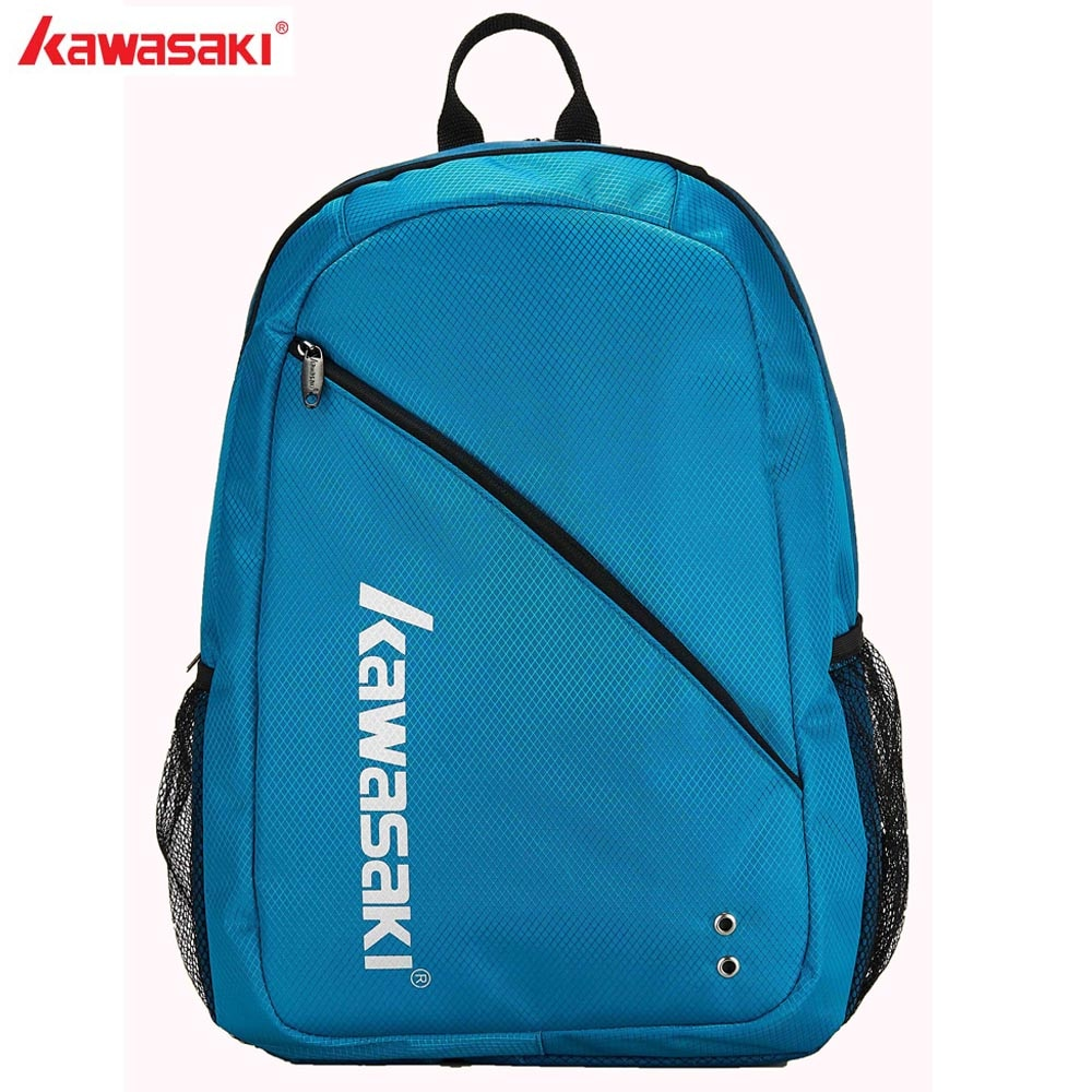 KAWASAKI Brand Tennis Bag Badminton Bags Racquet Backpack Ergonomics Design With Shoes Separate Room Sports Back Pack KBB-8208