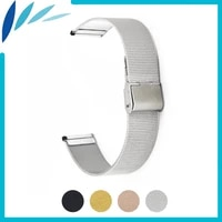 milanese stainless steel watch band 20mm 22mm for luminox men women hook clasp strap wrist loop belt bracelet black gold silver