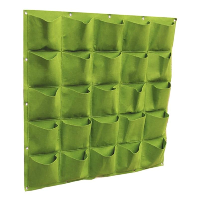 Parede interior e exterior pendurado plantio saco vertical pendurado cultura saco morango planta recipiente saco de crescimento