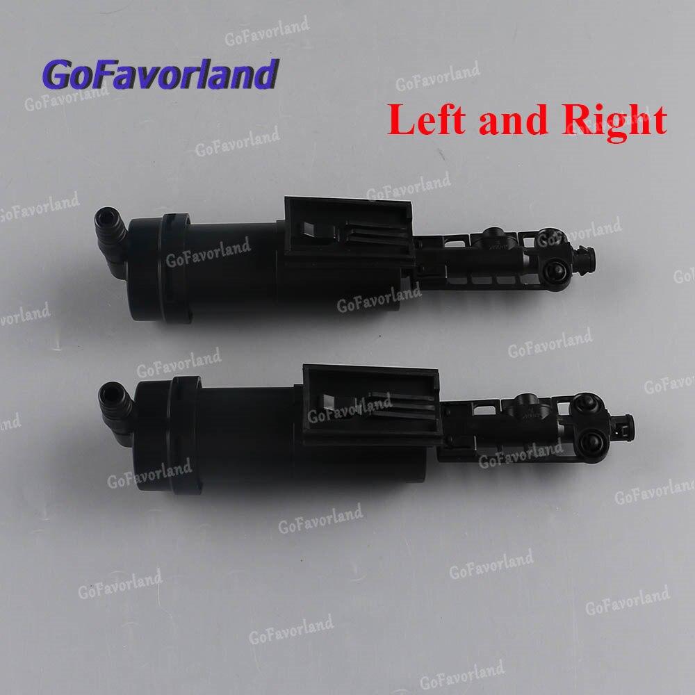 Izquierda o derecha delantera o par faro bomba de la lavadora 61677147047, 61677147046 para Mini Cooper R50 R53 2002-2008