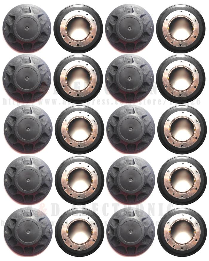 20 unids/lote alta calidad diafragma para Peavey 22XT 22A RX22 diafragma para SP2 SP4 SP-4X altavoz 8Ohm