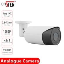 ENSTER TVI CVI CVBS AHD-caméra vidéo CCTV 2 mp IMX307   Starlight IMX307 étanche à lextérieur 2.8-12mm Varifocal Auto Focus, caméra analogique