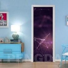 DIY Mural Waterproof Wallpaper Self Constellation Adhesive Door Sticker Canvas Print Picture Renovation New Bedroom Home Decor