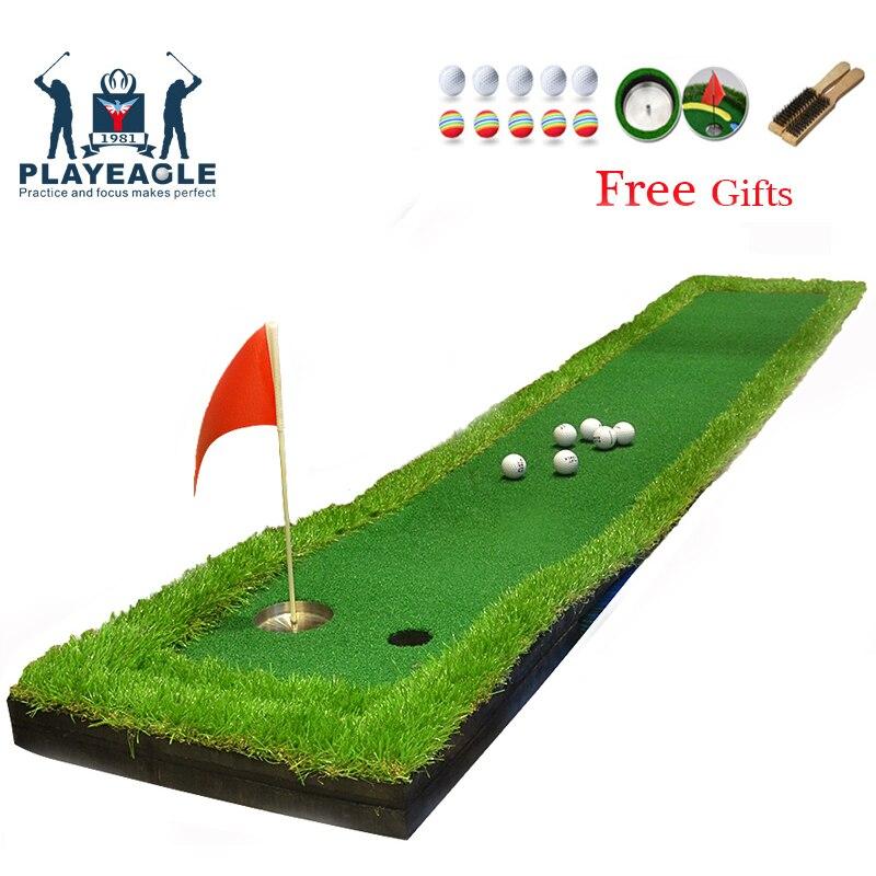 FUNGREEN Putting green de Golf de 50x300CM Golf poniendo estera al aire libre patio trasero para todo golfista portátil de práctica de Golf poniendo estera