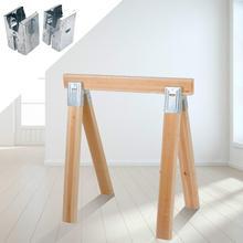 Sawhorse Brackets Wooden bracket Furniture Handles Installation Locator Furniture Woodworking Special Tools