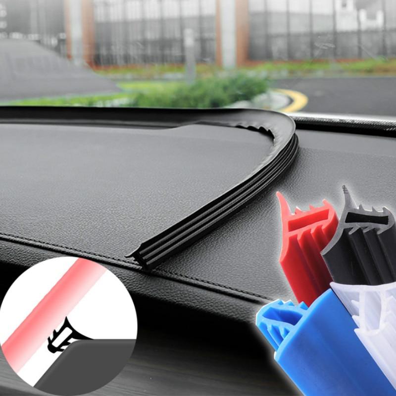 Наклейки для приборной панели автомобиля, уплотнительные полоски mercedes w204 w211 vw t5 seat ateca vw golf 4 golf mk2 seat leon mk3 nissan qashqai