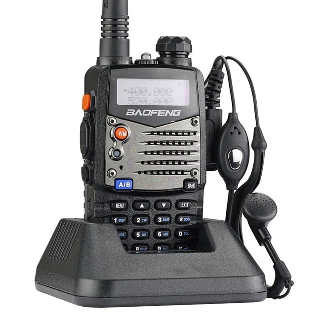 Pofung/BaoFeng UV-5RA Two-Way Radio, Dual band UHF/VHF Ham 136-174/400-520MHz Transceiver
