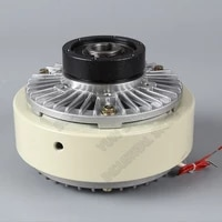 magnetic powder clutch 200nm 20kg dc24v hollow shaft winding brake for tension control bagging printing packaging dyeing machine