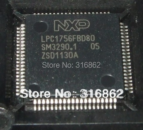 LPC1756FBD80 LPC1756 ORIGINAL TQFP80 ROHS 5PCS/LOT Free Shipping transistor diode module relay