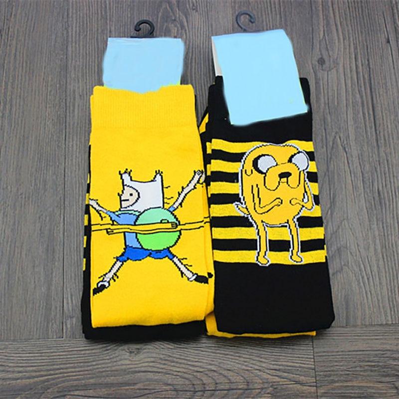 Caliente unisex calcetines Arte Abstracto diseño creativo original calcetines de dibujos animados de moda las mujeres calcetines de invierno y primavera