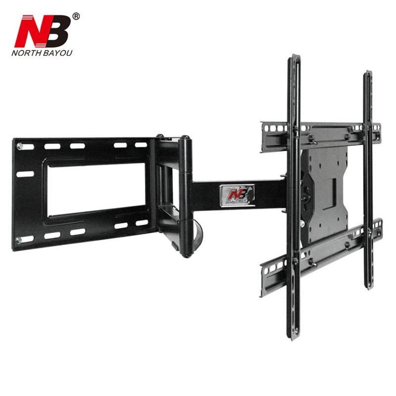 """Nb sp2 resistente 40 """"-70"""" painel plano led tv lcd montagem na parede movimento completo ultra longo braço giratória 180 graus distância de parede 110-712mm"""
