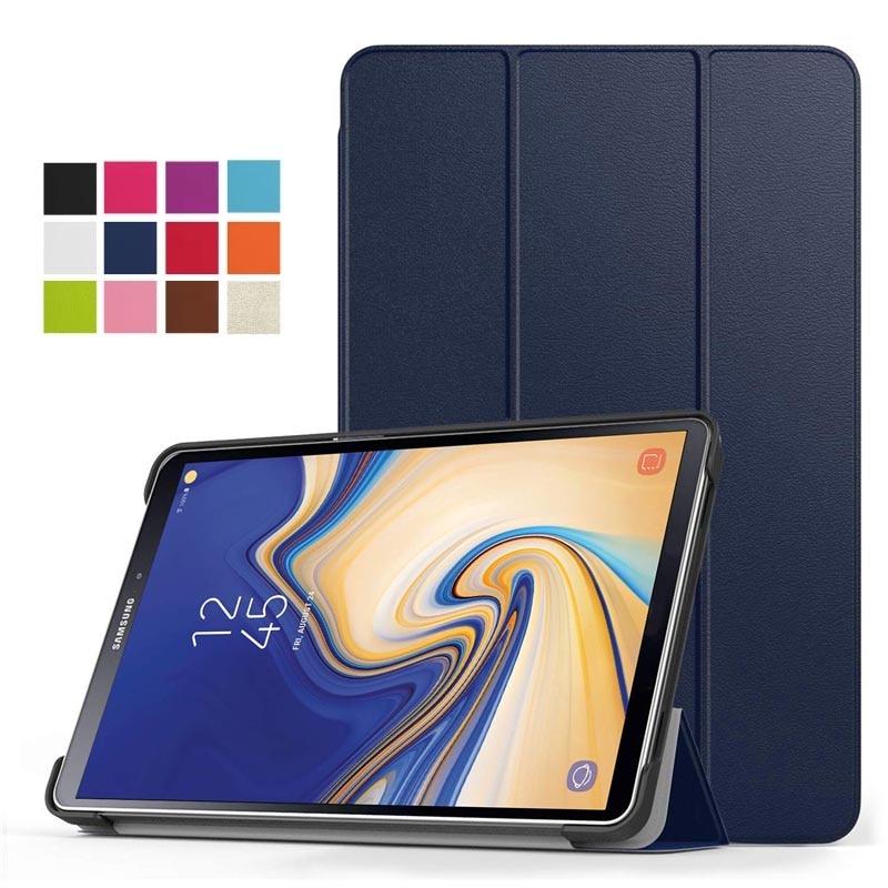 50 unids/lote Ultra Slim-carcasa protectora con soporte funda para samsung Galaxy Tab S4 10,5 pulgadas 2018 (SM-T830 Wi-Fi/SM-T835 4G LTE Tablet
