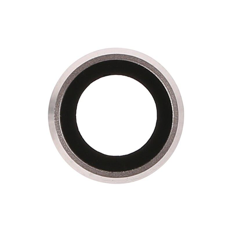 Weiß Farbe Hinten Kamera Objektiv Glas Abdeckung Mit Metall Rahmen Halter Für iPhone 6 Plus 5,5 Zoll