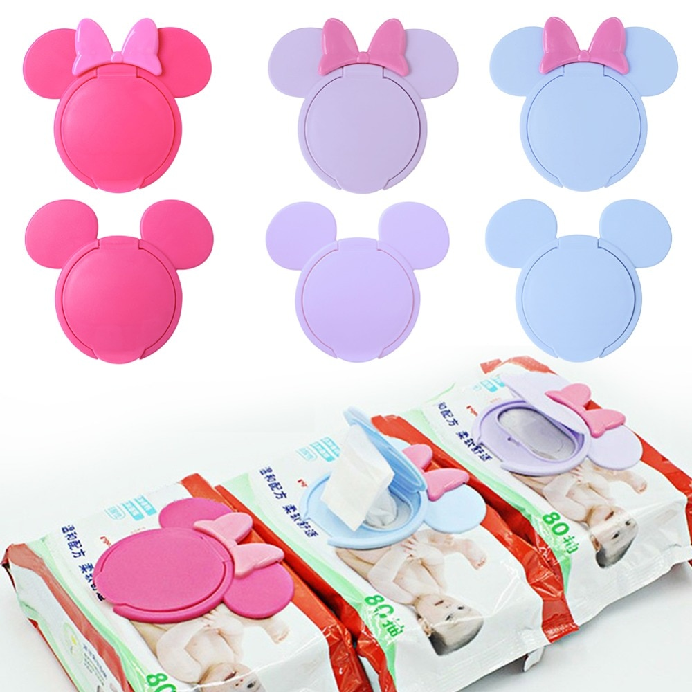 1 unidad de toallitas húmedas portátiles reutilizables de dibujos animados para bebés, toallitas húmedas para niños, toallitas húmedas útiles para móviles, toallitas húmedas de papel