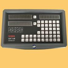 SINO SDS6-2 V multifonctionnel fraiseuse tour meuleuse échelle linéaire grille règle affichage numérique DRO livraison gratuite