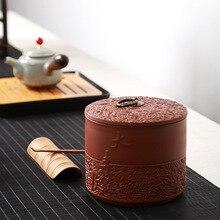 Boîte à thé en céramique brique rétro, bocaux en céramique, Mini bocaux à bonbons pour la cuisine, fin de Table, boîte de rangement dépices de qualité