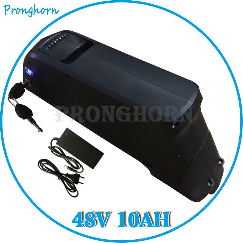 Batería de bicicleta eléctrica Bafang Tsdz2 750W 1000W, batería de litio 48 V 10Ah Shark, batería de bicicleta eléctrica, envío gratis