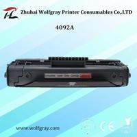 מחסנית טונר תואם עבור HP C4092A LaserJet 1100A/1100I/3200 M/3200SE. עבור CANON LBP200/250/350/800/810/1110 סדרה/1120