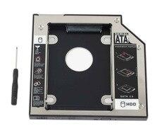 WZSM vente en gros nouveau 2nd HDD SSD disque dur Caddy 12.7mm pour HP Elitebook 8460 p 8470 p 8560 p 8570 p 8760 p