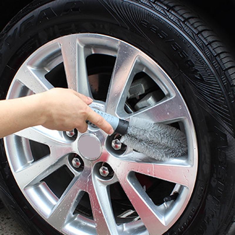 Rueda de neumático de coche cepillo de limpieza para Toyota Camry Corolla RAV4 Yaris Highlander/Land Cruiser/PRADO Vios Vitz/ reiz Prius