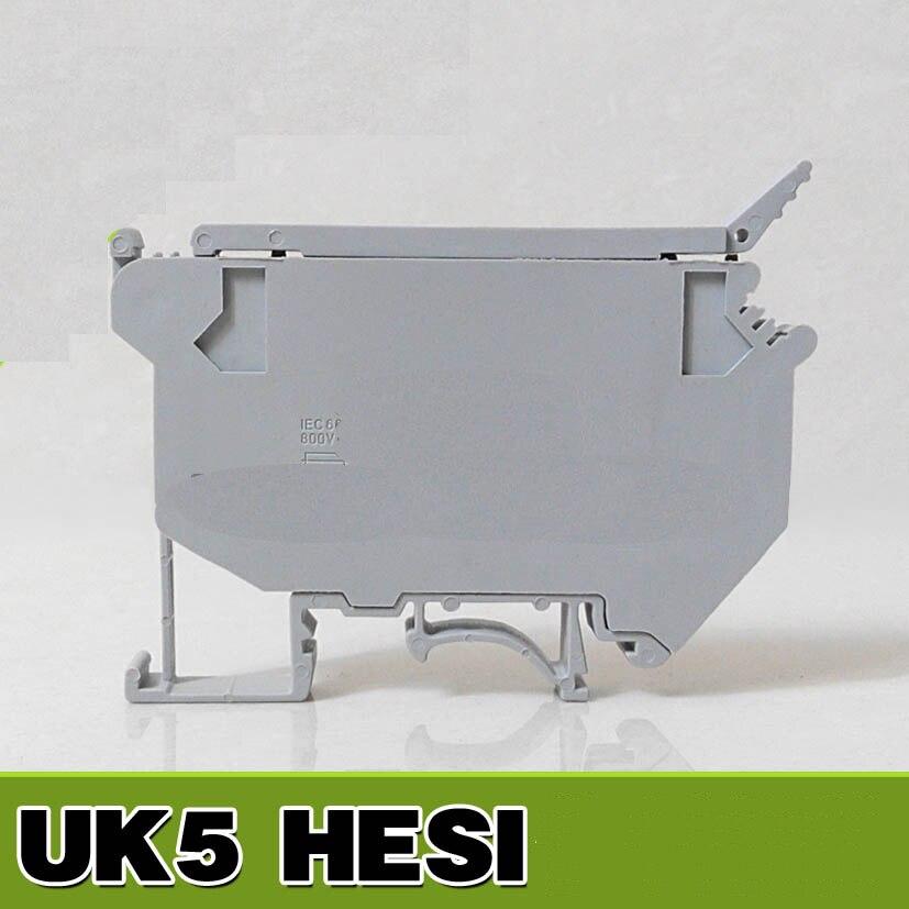 UK5-HESI (UK5RD) Serie DIN Rail Morsetto A Vite Morsettiere