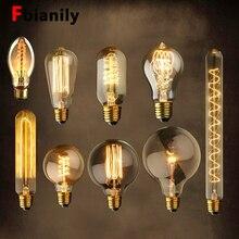 Vintage Edison Lamp E27 220 v Retro Lamp 40 w Lampada Ampul Vintage Gloeilamp ST64 Antieke Lamp Gloeilamp Thuis filament Nieuwe