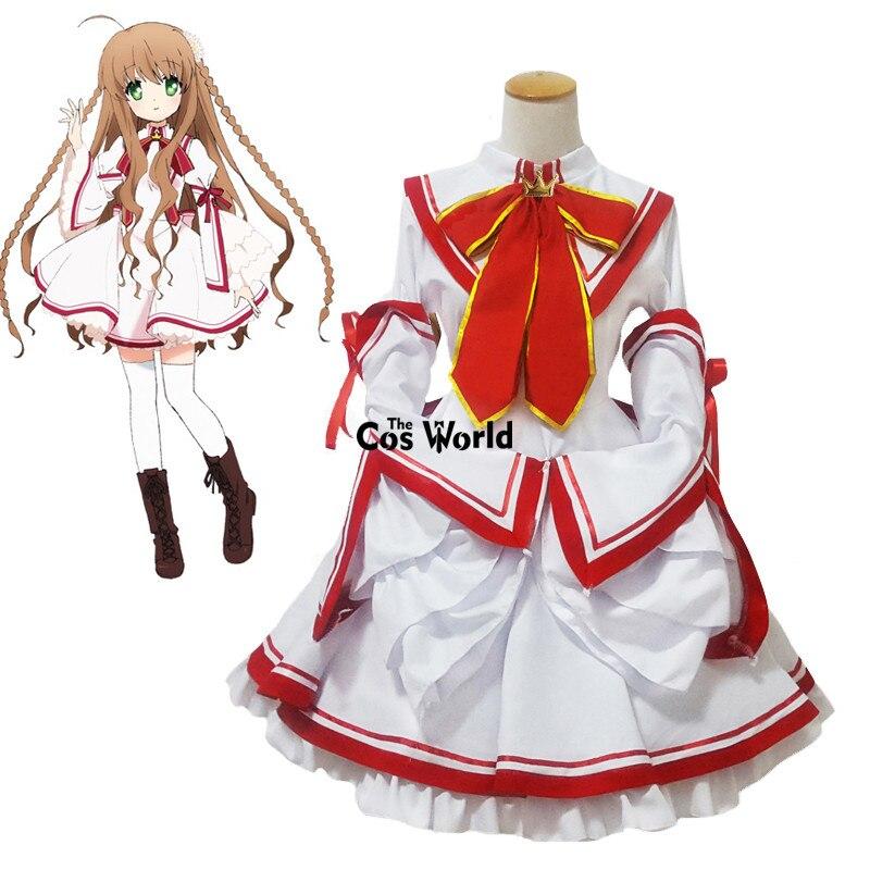 Reescribir Kanbe Kotori Senri Akane Nakatsu Shizuru vestido de lujo uniforme traje Anime Cosplay disfraces