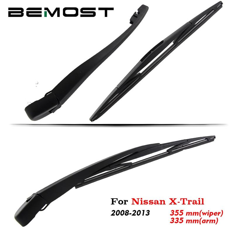 BEMOST Auto Car Rear Windshield Wiper Arm Blade Brushes For Nissan X-Trail Hatchback 2008 2009 2010 2011 2012 2013 Accessories