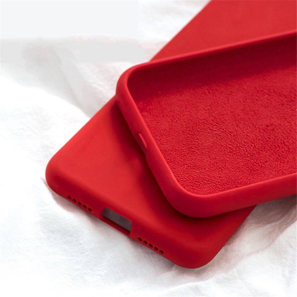 Роскошный жидкий силиконовый чехол для iPhone SE 2020 XS Max XR 6S iPhone 7 8 Plus 6Plus 11 Pro Max, мягкий чехол для мобильного телефона