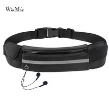 Nouveau sac de taille de course en plein air étanche support pour téléphone Mobile Jogging ceinture sac de ventre femmes sac de Fitness dame Sport accessoires