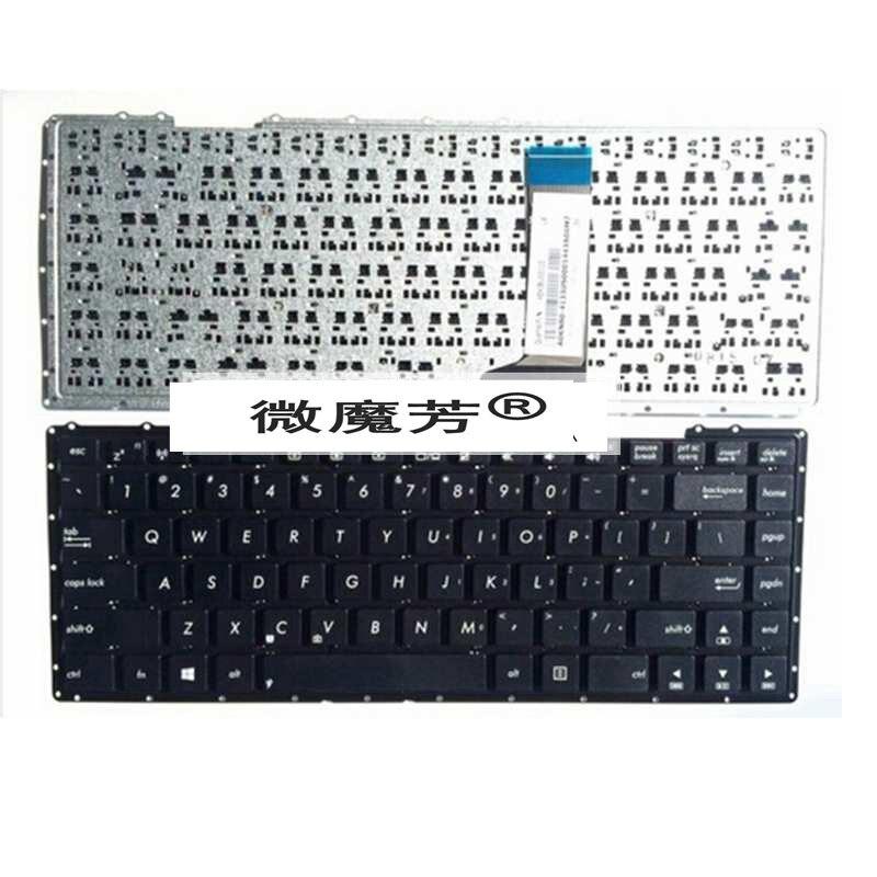 Teclado ruso para la ASUS R409C X451 X452 F401E V451X403M A450LC R409E R409L R455L R455 R455LD A455 A555 Y483 teclado portátil RU
