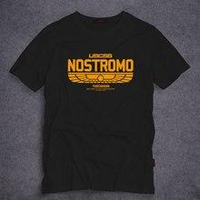 2017 nouveautés USCSS Nostromo 180286 Logo bateau t-shirt homme Film science fiction Ripley drôle cadeau Cool présent