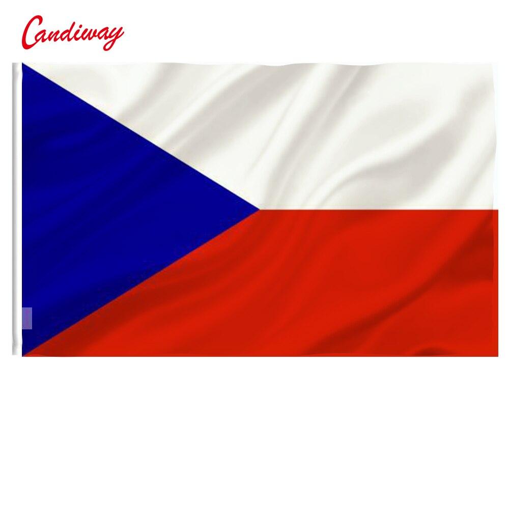 3X5 צ 'כיה דגל צ' כוסלובקיה באנר האיחוד האירופי מקורה משרד/פעילות/מצעד/פסטיבל/עיצוב הבית NN084