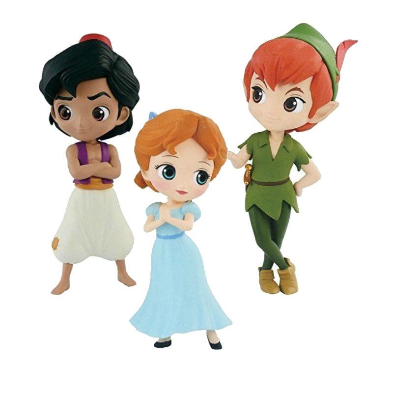 Caracteres Q posket petit tiempo fantástico Wendy Peter Pan Aladdin figura