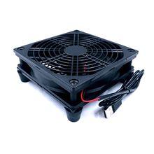Router fan DIY PC Cooler TV Box Wireless  Cooling Silent Quiet DC 5V USB power 120mm fan 120x25mm 12CM W/Screws Protective net