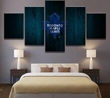 5 قطعة قماش اللوحة هوكي الجليد الرياضة الحديثة اللوحات الزخرفية على قماش جدار الفن للمنازل ديكورات ديكور الحائط الفني