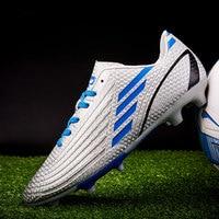 MWY כדורגל נעלי גברים מקצועי כדורגל סוליות חיצוני דשא ספורט סניקרס Zapatillas Futbol Hombre לנשימה מאמני