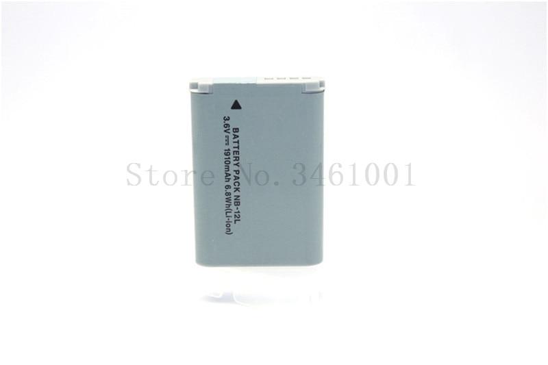 NB-12L nb-12l NB12L Bateria para Canon PowerShot Câmeras G1 X Mark II Mark 2 G1X N100 e VIXIA Mini X.