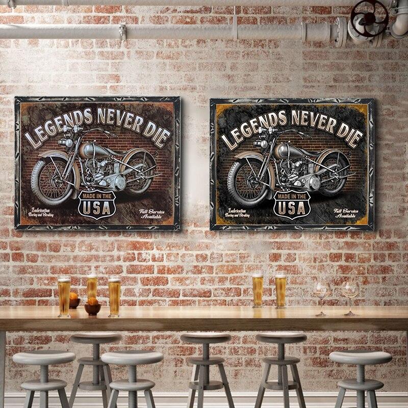 Американский Винтаж Металлические оловянные знаки Route 66 номерные знаки для автомобиля табличка для номерного знака Плакат Бар Клуб стена г...