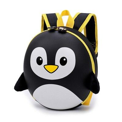 New Eve Penguin Backpack Child Hard Backpack Shell Backpack Cute Cartoon Mini Shoulder Bag Cute Bag