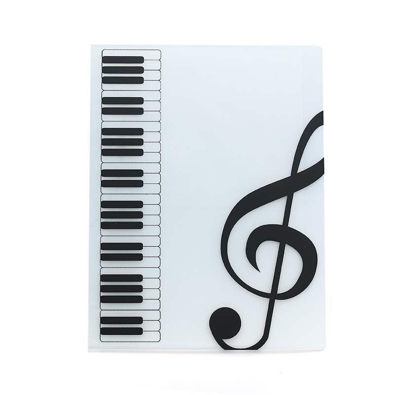 Фото - 80 Sheets A4 Music Book Folders Piano Score Band Choral Insert-type Folder Music Supplies Waterproof File Storage Product music band