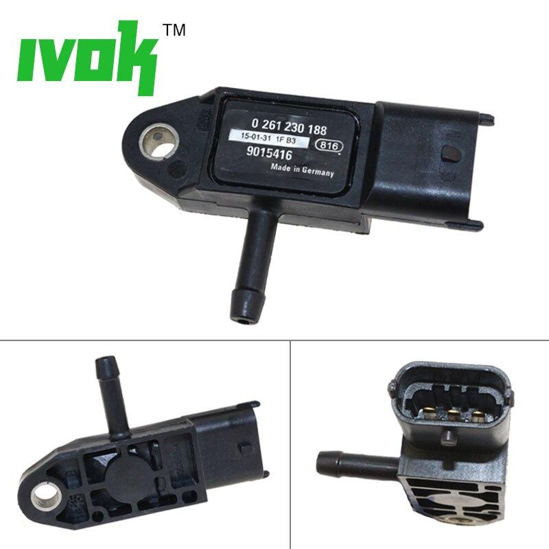 Original Sensor de Presión Absoluta Mapa de Sensor para Daewoo Buick GMC Chevy Cadillac 0261230188. 9015416
