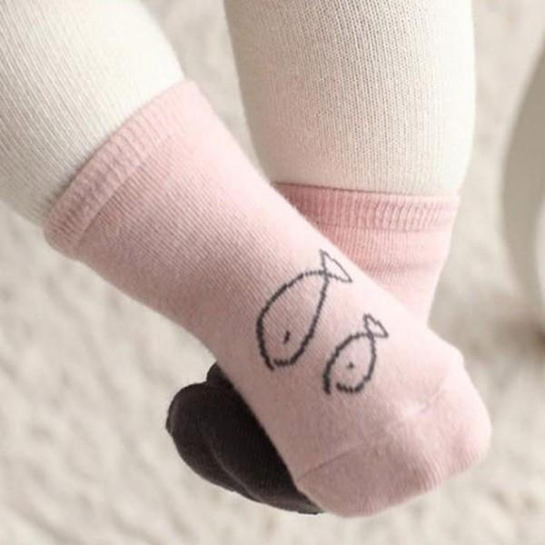 Носки для новорожденных мальчиков и девочек Детские Носки с рисунком Совы мягкие хлопковые носки унисекс Новинка